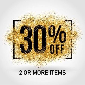 Bundle ✌🏻or more items and automatically save30%